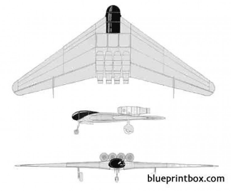 junkers ef 130 model airplane plan