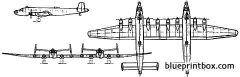 junkers ju 290z model airplane plan