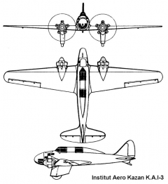 kai3 3v model airplane plan
