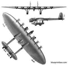kalinin k 7 model airplane plan