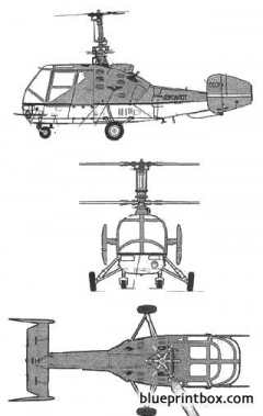 kamov ka 15m model airplane plan