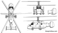 kamov ka 25 hormone model airplane plan