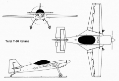 katana 3v model airplane plan