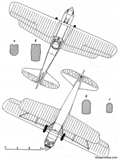 kawanishi ki 10 perry 2 model airplane plan