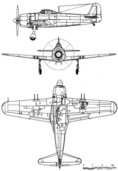 kawanishi n1k2 shidengeorge model airplane plan