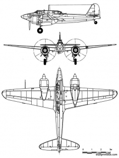 kawasaki ki 45 toryunick model airplane plan