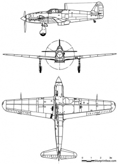 kawasaki ki 61 hientony model airplane plan