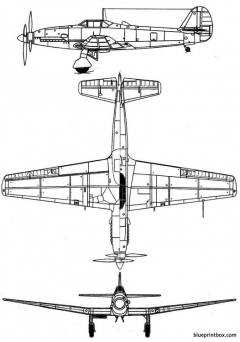 kawasaki ki 64 rob model airplane plan