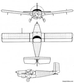 kellner bechereau e 5 model airplane plan
