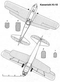 ki10 2 3v model airplane plan