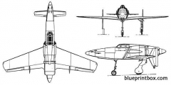 kyushu j7w shinden model airplane plan