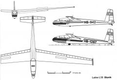 l13 3v model airplane plan