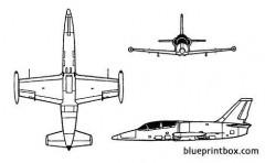 l 39 albatros 2 model airplane plan
