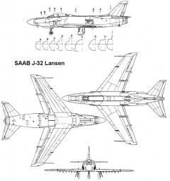 lansen 3v model airplane plan