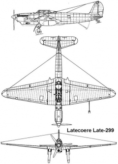 late299 3v model airplane plan