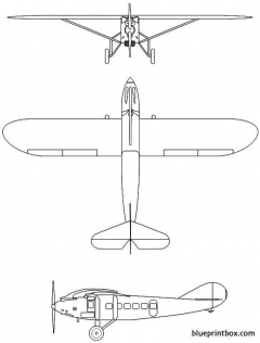 latecoere 28 1929 france model airplane plan