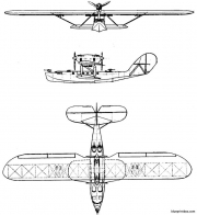 latecoere 38 model airplane plan