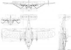 latecoere 523 2 model airplane plan