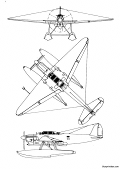 latecoere late 298 model airplane plan