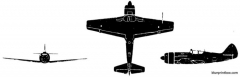 lavochkin la 11 fang model airplane plan