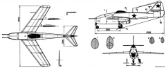 lavochkin la 160 model airplane plan