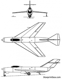 lavochkin la 190 model airplane plan