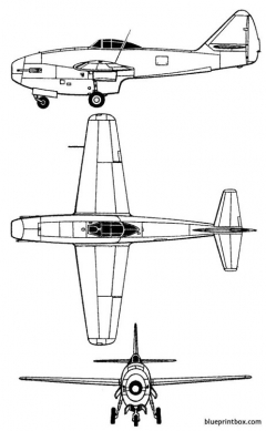 lavotchkine la 152 model airplane plan