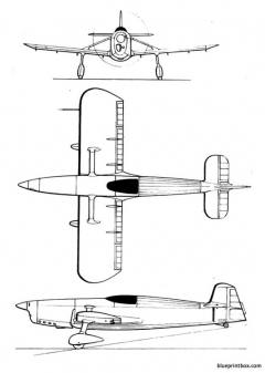 leduc rl 02 model airplane plan