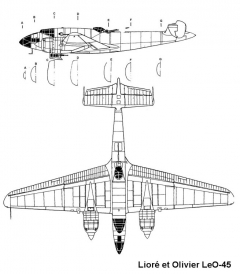 leo45 2 3v model airplane plan