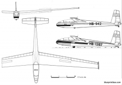 letov l 13 blanik model airplane plan