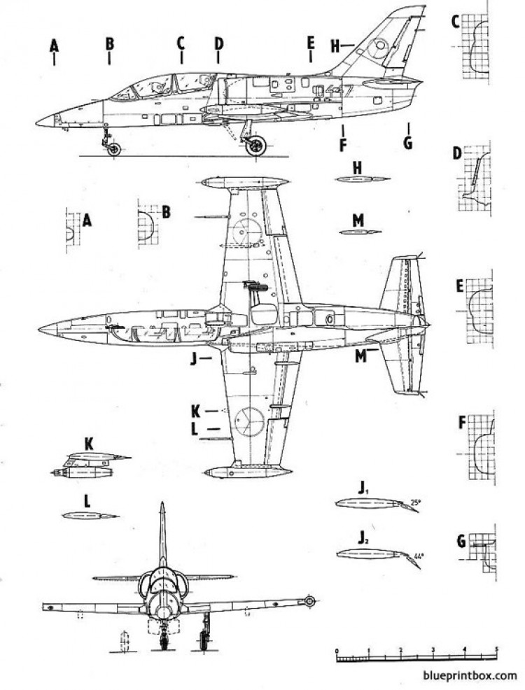 letov l 39 albatross model airplane plan
