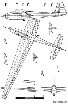 letov lf 107 lunak model airplane plan