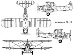 levasseur10 3v model airplane plan