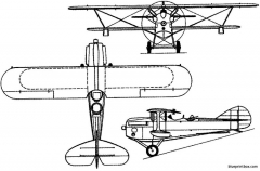 levasseur pl 5 1924 france model airplane plan