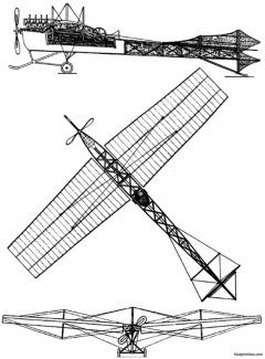 levavasseur antoinette vii model airplane plan