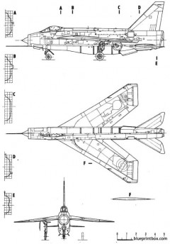 lightning f6 model airplane plan