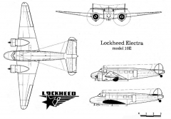 lockheed10 3v model airplane plan