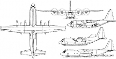 lockheed c 130 hercules 3 model airplane plan