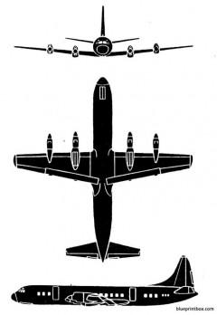 lockheed electra model airplane plan