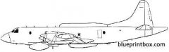 lockheed ep 3b orion model airplane plan