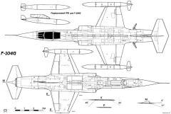 lockheed f 104 starfighter 2 2 model airplane plan