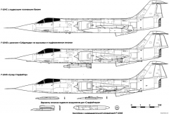 lockheed f 104 starfighter 3 model airplane plan