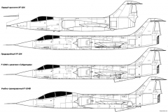 lockheed f 104 starfighter 6 model airplane plan