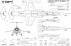 lockheed f 104c d starfighter 2 model airplane plan