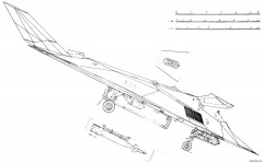 lockheed f 117 nighthawk 4 model airplane plan