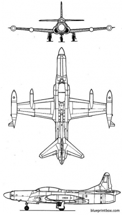 lockheed f 94c starfire model airplane plan