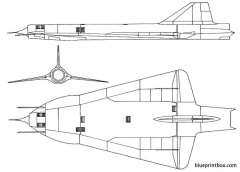 lockheed gtd 54 model airplane plan