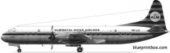 lockheed l 188 electra model airplane plan