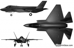 lockheed martin f 35 model airplane plan