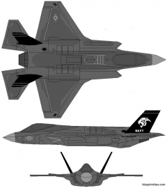 lockheed martin f 35c lightning ii model airplane plan